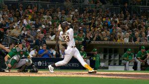 (VIDEO) Tatis Jr. llega a 31 cuadrangulares; Jiménez bota la pelota en su primer hit
