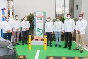 Edesur instala el supercargador más potente para vehículos eléctricos