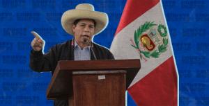 Pedro Castillo pide un esfuerzo del mundo para mejorar la educación y salud