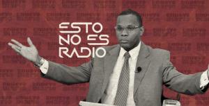 """Periodista Ramón Tolentino regresa al programa """"Esto no es radio"""""""