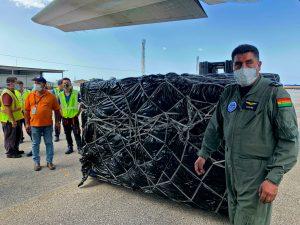 Cuba recibe cargamentos de ayuda humanitaria de México y Bolivia