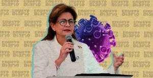 """Raquel Peña asegura""""estamos a muy pocos pasos para finalizar esta pandemia"""""""