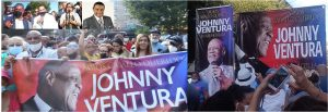 Espaillat, Jáquez, y El Canario resaltan legado de Johnny Ventura durante vigilia en el Alto Manhattan