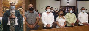En Nueva York, se registra asistencia masiva a misa de la madre de Leonel Fernández