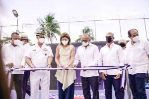 Vicepresidenta Raquel Peña resalta aportes del Club Náutico de Santo Domingo