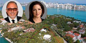Los Estefan venden por 35 millones de dólares su mansión de Miami