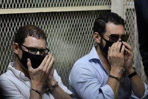 Los hijos de Martinelli salen del área de aislamiento en cárcel de Guatemala
