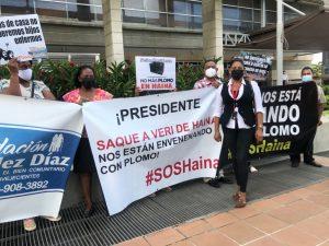 (VIDEO) Comunitarios de Haina exigen cierre de fábrica por daños a la salud