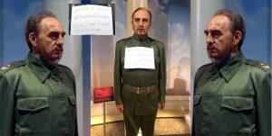 Cartel con mensajes obscenos es colocado en estatua de Fidel Castro en museo Madame Tussauds