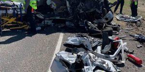 Al menos 10 muertos en un accidente de una furgoneta de inmigrantes en Texas