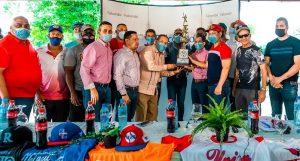 Con el apoyo de Falcondo se reactiva el tradicional torneo de béisbol provincial en Monseñor Nouel