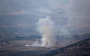 Israel bombardea sur de Líbano en respuesta ataque con cohetes, dice Hizbulá