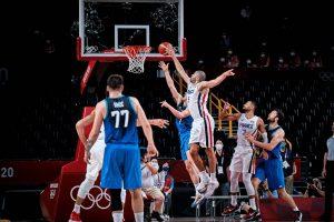 Francia detiene a Doncic y se medirá en la final con Estados Unidos