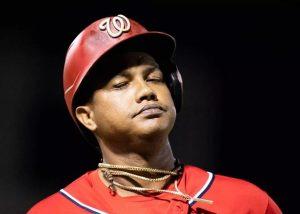 Nacionales cortan a Starling Castro luego de suspensión de MLB por violencia doméstica