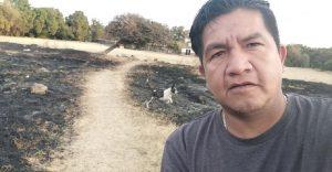 Rodrigo Morales Vázquez, activista asesinado. (Fuente externa)