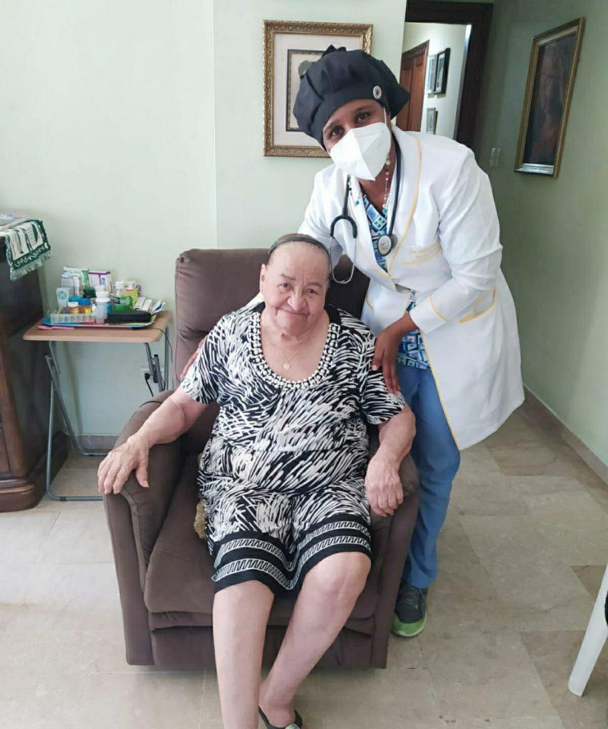 Brujan con una paciente