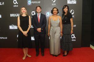 Dan apertura a la undécima edición del Festival Internacional de Cine  Fine Arts