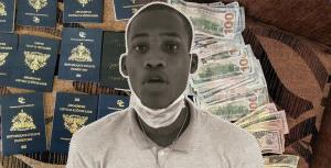 Ejército detiene haitiano con 11 pasaportes, una computadora y US$ 4,800 dólaresen Dajabón