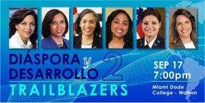 Realizarán II Conferencia Diáspora y Desarrollo en MDC en Miami; reunirá líderes dominicanas