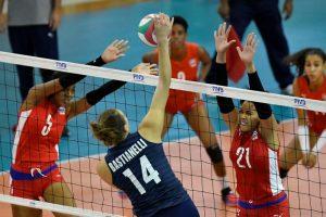 Estados Unidos continúa invicto en Copa Panam de Voleibol