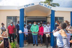 Alcaldía SDN inaugura capilla y funeraria en San Felipe