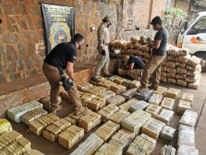 Descabezan en Paraguay esquema de tráfico de marihuana a Brasil a gran escala