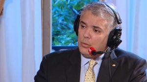 """Iván Duque: """"Soy escéptico respecto a las negociaciones sobre Venezuela"""""""