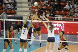 Las Reinas el Caribe vencen a Estados Unidos y continúan sin perder un set en Panam de Voleibol