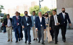 Francisco Domínguez Brito sostiene encuentro con empresarios dominicanos en Nueva York