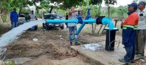 Instalan nueva bomba sumergible para suplir de agua potable a munícipes en Puerto Plata