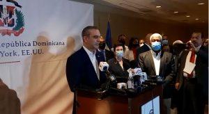 Abinader dice en Nueva York que aunque todos los países se cansen de Haití RD no lo hará
