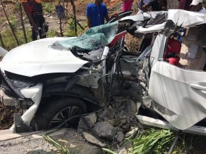 Mueren dos jóvenes tras sufrir accidente en Boyá de la provincia Monte Plata