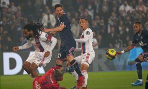 Messi se atasca en la victoria del París Saint-Germain