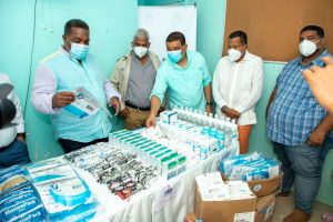 Gabinete de Política Social entrega medicamentos a hospitales y centros de atención primaria