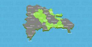 COE emite alerta verde para nueve provincias por posibles crecidas de ríos, arroyos y cañadas