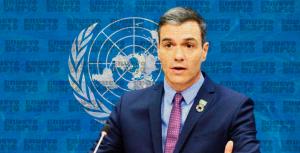 Sánchez llega a Nueva York para intervenir ante la Asamblea de la ONU