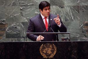 Alvarado denuncia desigualdad en vacunas y situación de DDHH en Nicaragua