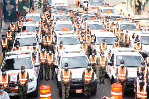 Comipol reforzará con más de tres mil soldados, carreteras y autopistas durante fin de semana largo