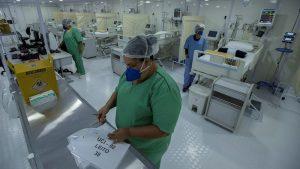 Brasil supera las 592.000 muertes por covid y roza 21,3 millones de casos