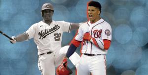 Juan Soto empata marca Nacionales de bases por bolas recibidas
