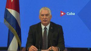 """(VIDEO) El presidente cubano critica en la ONU la instigación """"permanente"""" de EE.UU."""