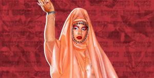 (VIDEO) Causa revuelo vestuario de Tokischa con simbología religiosa en alfombra roja de Premios Billboards