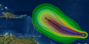 Sam se convierte en huracán categoría 1