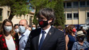 Expresidente de Cataluña queda en libertad pero no puede salir de Italia