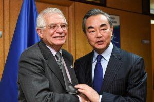 Wang y Borrell presidirán mañana una reunión estratégica entre China y la UE
