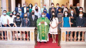 COPYMECON celebra misa por 12 aniversario; destacan política inclusiva del gobierno