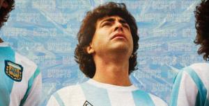 """Nazareno Casero, Maradona en la ficción: """"Hay algo místico en él"""""""
