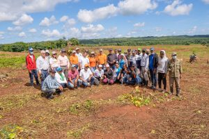 Consorcio Citrícola del Este realiza jornada de reforestación junto a Medio Ambiente