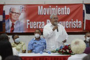 Exdiputado Héctor Marte promueve legado de Balaguer y apoya ejecutorias de Abinader