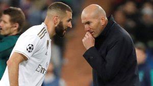 """Zidane: """"Benzema es un jugador increíble y merece el Balón de Oro"""""""